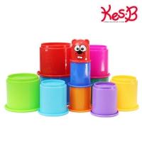 [캐스B]플레이 컵쌓기11pcs