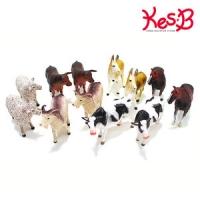 애니멀킹덤 농장동물 12pcs  캐스B네이처