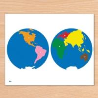C0249 세계지도 퍼즐 B