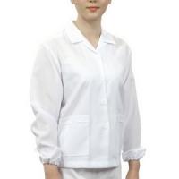 위생복 긴팔 -흰색 [주방용품]