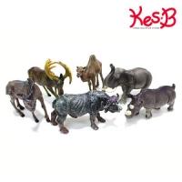 애니멀킹덤 야생동물 6pcs   캐스B네이처