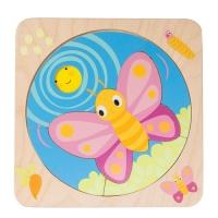 [텐더리프] 아장아장 노랑나비 성장퍼즐