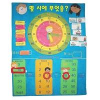 TS7038-K 차트 몇시에 무엇을? [벽걸이/시계]