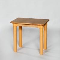 1인용유치책상(ABS다리)/고무나무WR1015