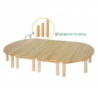 고무나무 영아책상세트 DRS01