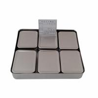 사각 스텐 점보 보존식용기(6p) [위생/주방용품]
