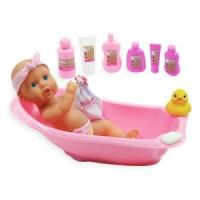 돌스월드 디럭스 목욕놀이 인형세트(8855)