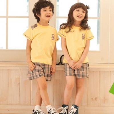 곰라운드 티셔츠/노랑 *강력추천*