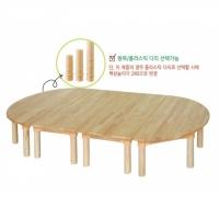 고무나무 유아책상세트 DRS02