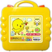 48색 노랑병아리크레용/크레파스
