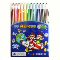 12색 지구슈퍼색연필(샤프식)