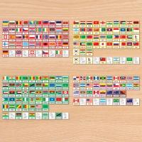 C0214 세계국가명칭3단계P.P.카드-영어판