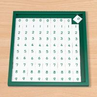 M0104 뺄셈 암산판 숫자 타일 정리대