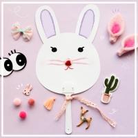 토끼 부채 5p