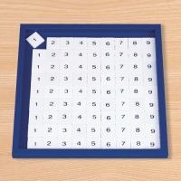 M0112 나눗셈 암산판 숫자 타일 정리대