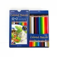 12색목색연필(종이케이스)