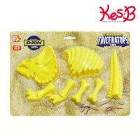 공룡찍기 트리케라톱스   [캐스B]네이처