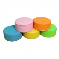 PU 원형 유아용 키올림방석/색상별