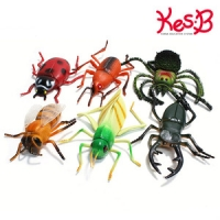 소프트 점보곤충 6종   캐스B네이처