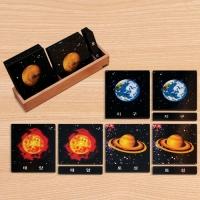 C0199 태양계 명칭 3단계 카드