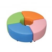 어린이용 PU 매직코너 보조의자 (1조각)/색상별