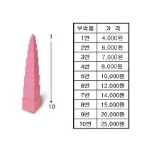 분홍탑 -부속품