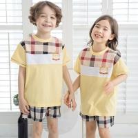 해피티셔츠(노랑)+반바지