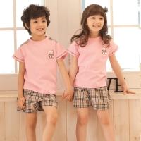 [교사용]곰라운드 티셔츠/분홍