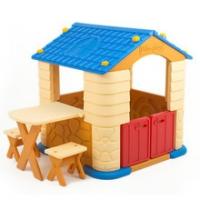 에듀플레이하우스2(블루) (집+테이블+의자세트)