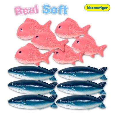 소프트물고기 12pcs